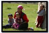 Kazakh Mother and Kids, Bayan-Olgii