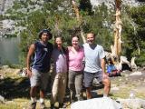 Group photo at Long Lake