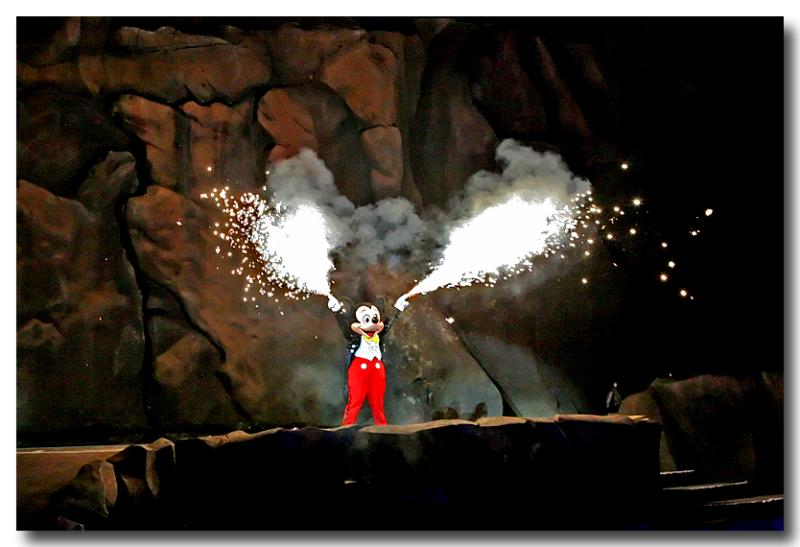pyro Mickey