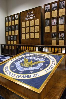 congressional medal of honor room