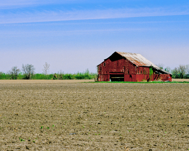 Missouri River Barn