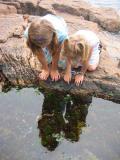 Girls Reflecting