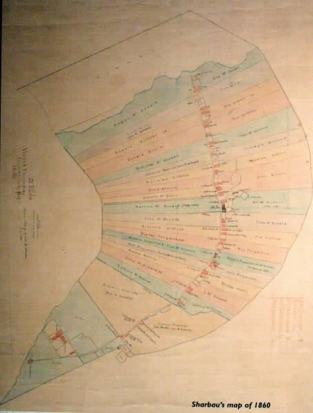 Shaubaus map of 1860
