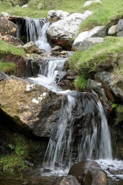 Stream to west of village