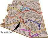 Butterfield Stage Coach Route - Arizona