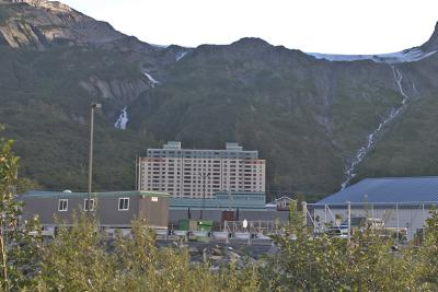 Begich Tower in Whittier - Dorm Living in a Mountain Setting