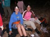 people research susan north and rachel hansen processing frogs kirrama 2005 IMGP3126