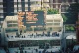 Cricket Electronic Scoreboard after England's Victory