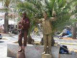 Live 'Statues' at Ibiza Town