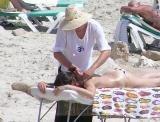 Massage at the beach