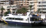 Passengers on a Formentera Ferry