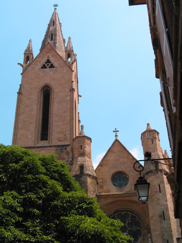 closer to the Gothic Church