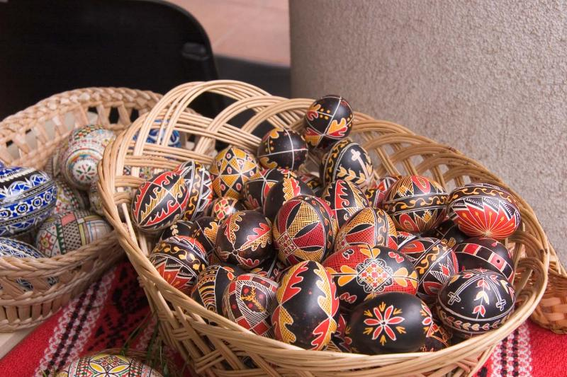 Romanian Hand Painted Easter Eggs