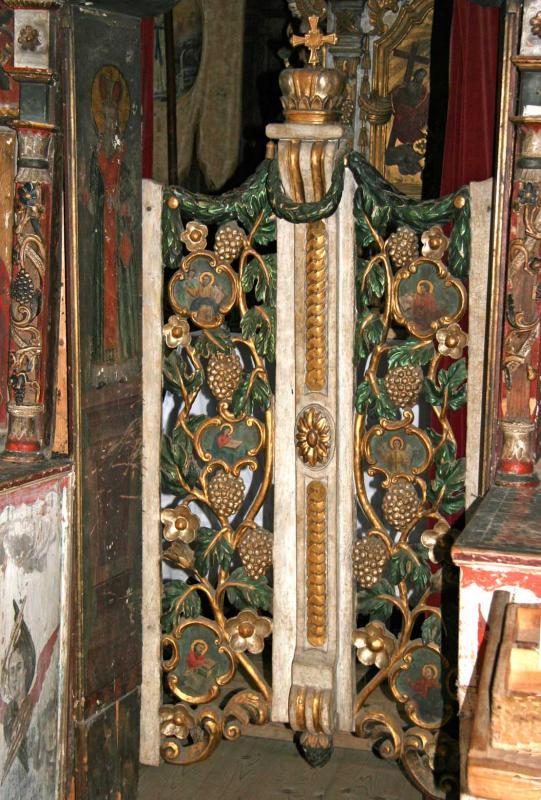 Ornate Wooden Gate
