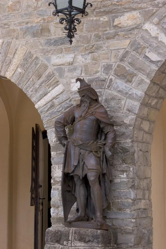 Statue on the terrace