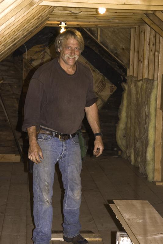 Brian Inside the attic
