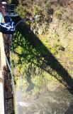 Bungee jumping - 2nd highest in the world