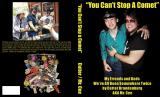 Stevie Ray Vaughan on the book cover that I designed