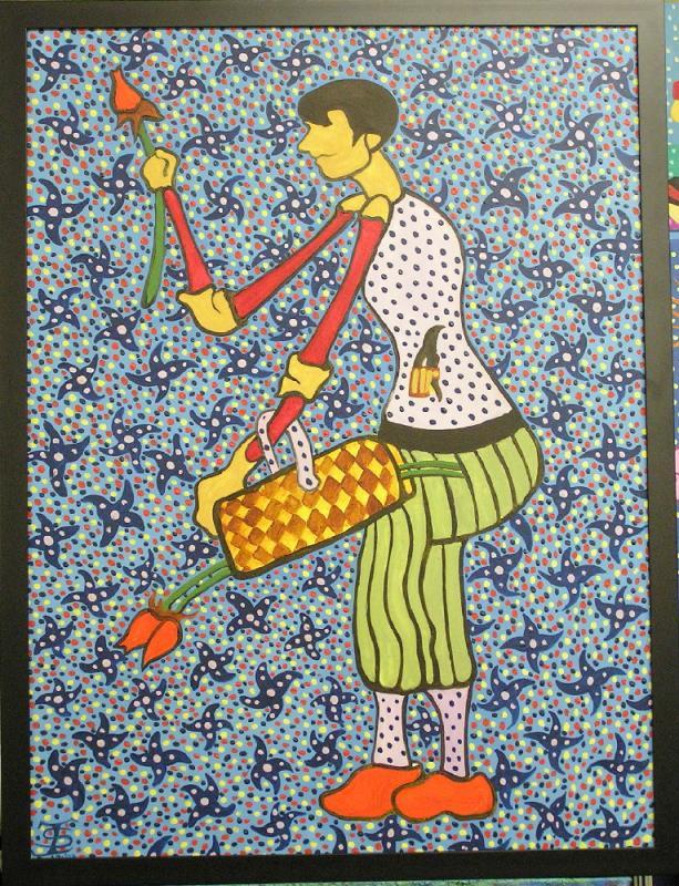 167 - The Flower Vendor