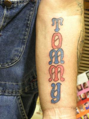 Tommy Tattoo