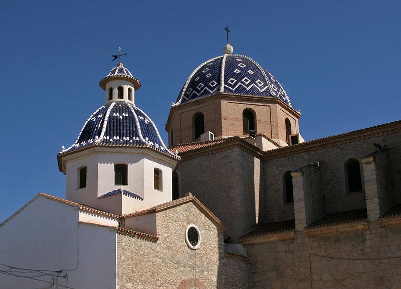 Altea,romanic church