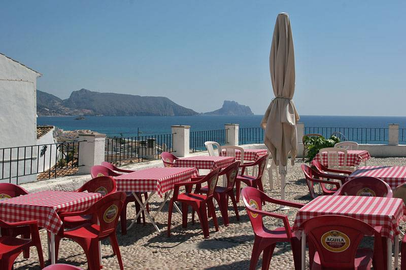 Altea,looking for lunch