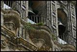 Arcos,some dozen steps up to the clocks