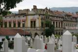 Bosnia,Mostar,graveyard in middle of the town