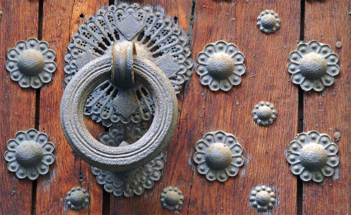 Very old door...
