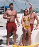 Lake Norman Boating Weekend Photos of Muscle Guys Hot Gals and Daddy Bears in Boats