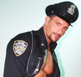 Shirtless Muscle Cops and Hot Policeman Posing Ripped Mens Abs Sixpack Stomach
