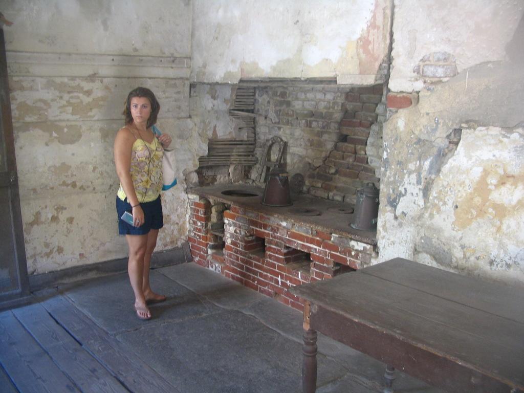 Slave Kitchen at the Aiken Rhett House