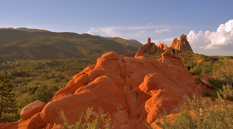 On the Back of the Dragon in The Garden of the Gods