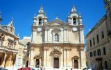 Facade Cathedral Mdina