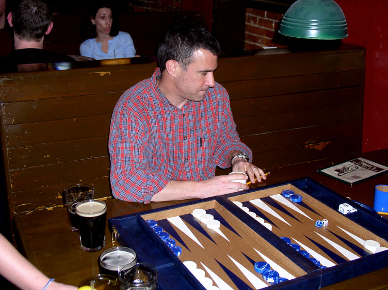 Bob Bernstein (one of his last tournaments as single guy)