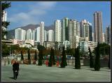 HK residential skyline