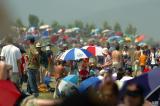 Thousands of umbrellas
