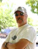 John outside Main Street Gallery in Murphys, CA