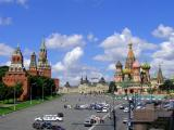 View of Red Square and Kremlin