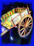 Medieval Cart for Vineyards