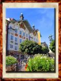Bad Tolz Central Square, Bayern