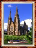 Protestant Cathedral in Strasburg, France