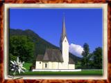 Falling Church in Schliersee, Bayern