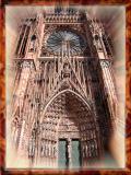 Eternal Wonder of Strasburg's Cathedral, France