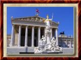 Parliament in Vienna, Austria