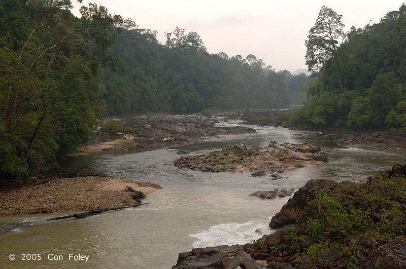 Jasin rapids downstream