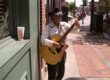 Nashville street musician