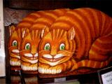 Cheshire cat times 3