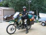 Motorcycle touring Labrador 2004
