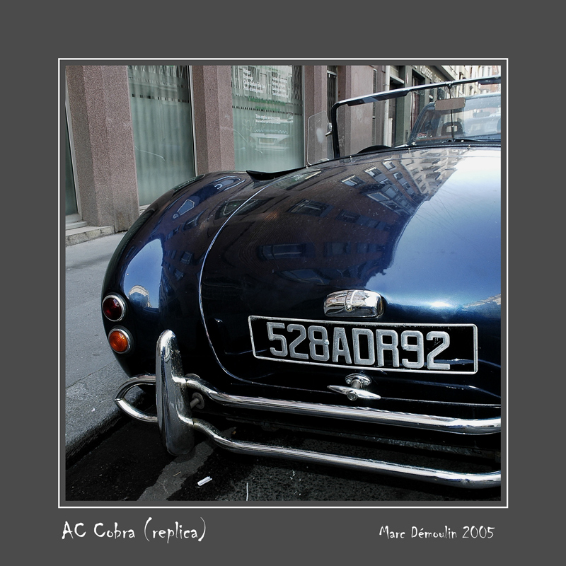 AC Cobra (replica) Paris - France